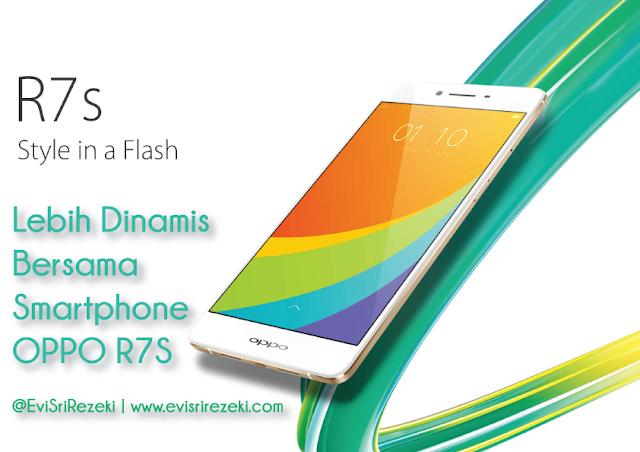 Lebih dinamis bersama smartphone OPPO R7S