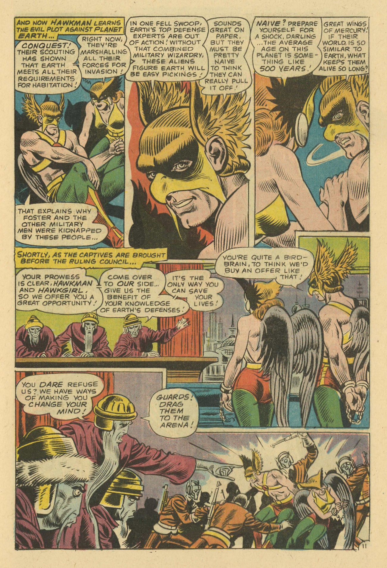 Hawkman (1964) issue 24 - Page 13