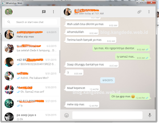 WhatsApp untuk Desktop Windows