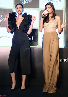 Sonam Kapoor in a Beautiful Stunning Black Dress at The Party Starter Anthem launch 3rd March 2017 04.jpg