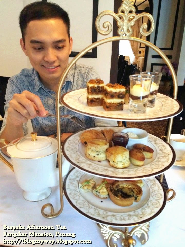 Bespoke Afternoon Tea, Farquhar Mansion, Penang