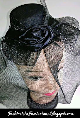 Black fascinator hats for sale in Kenya
