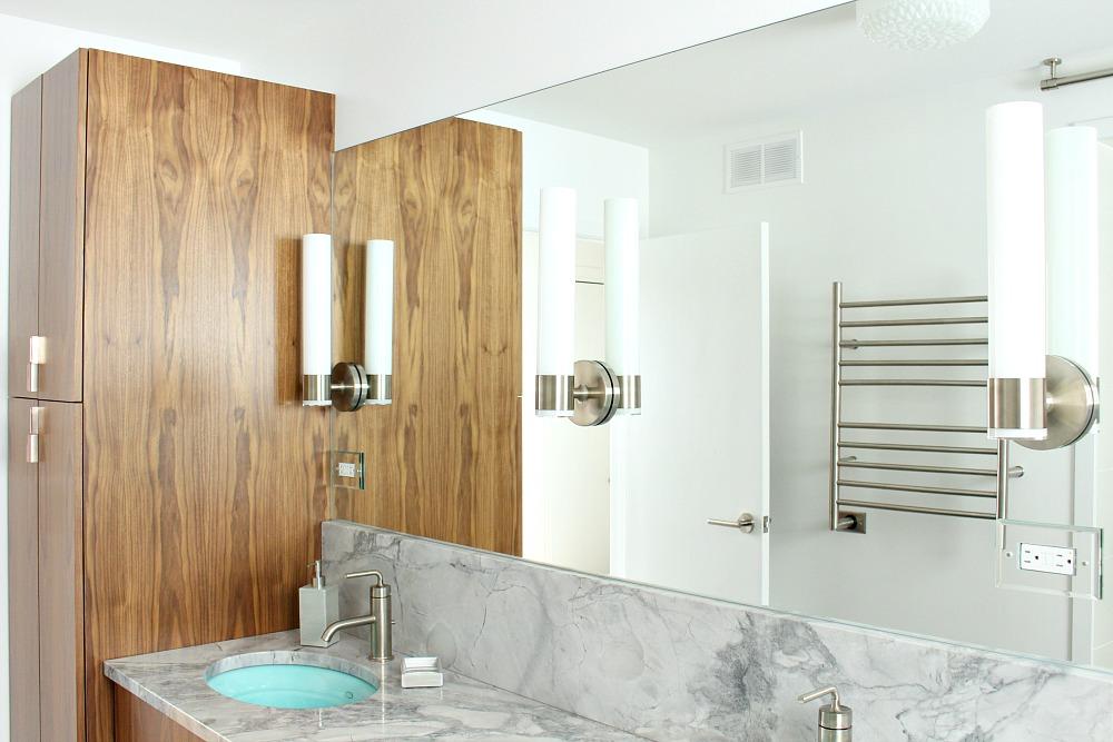 Modern Bathroom Makeover in Progress
