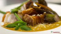 Cafe Fleur, Crispy Pork Belly Kare-Kare