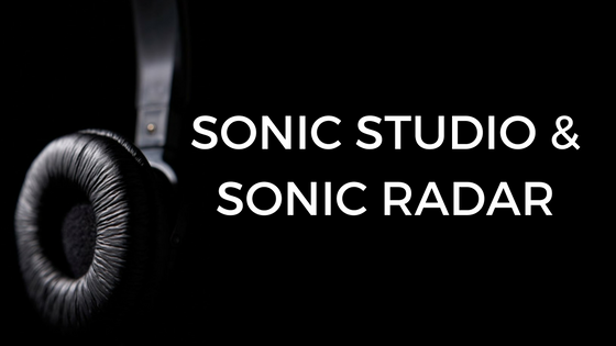 SONIC AUDIO AND SONIC RADAR