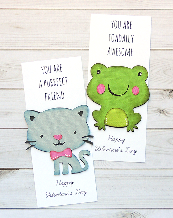 DIY Valentines - Bookmarks
