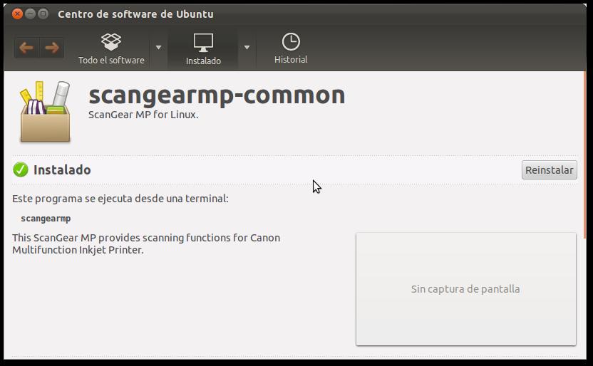 Instalar Driver para Canon mp250 en Ubuntu