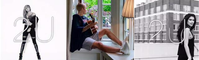 "Justin Bieber New Single ""2U"" Short Clips"