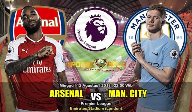Prediksi Arsenal Vs Manchester City 12 Agustus 2018