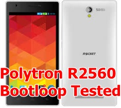 Polytron R2560 Bootloop