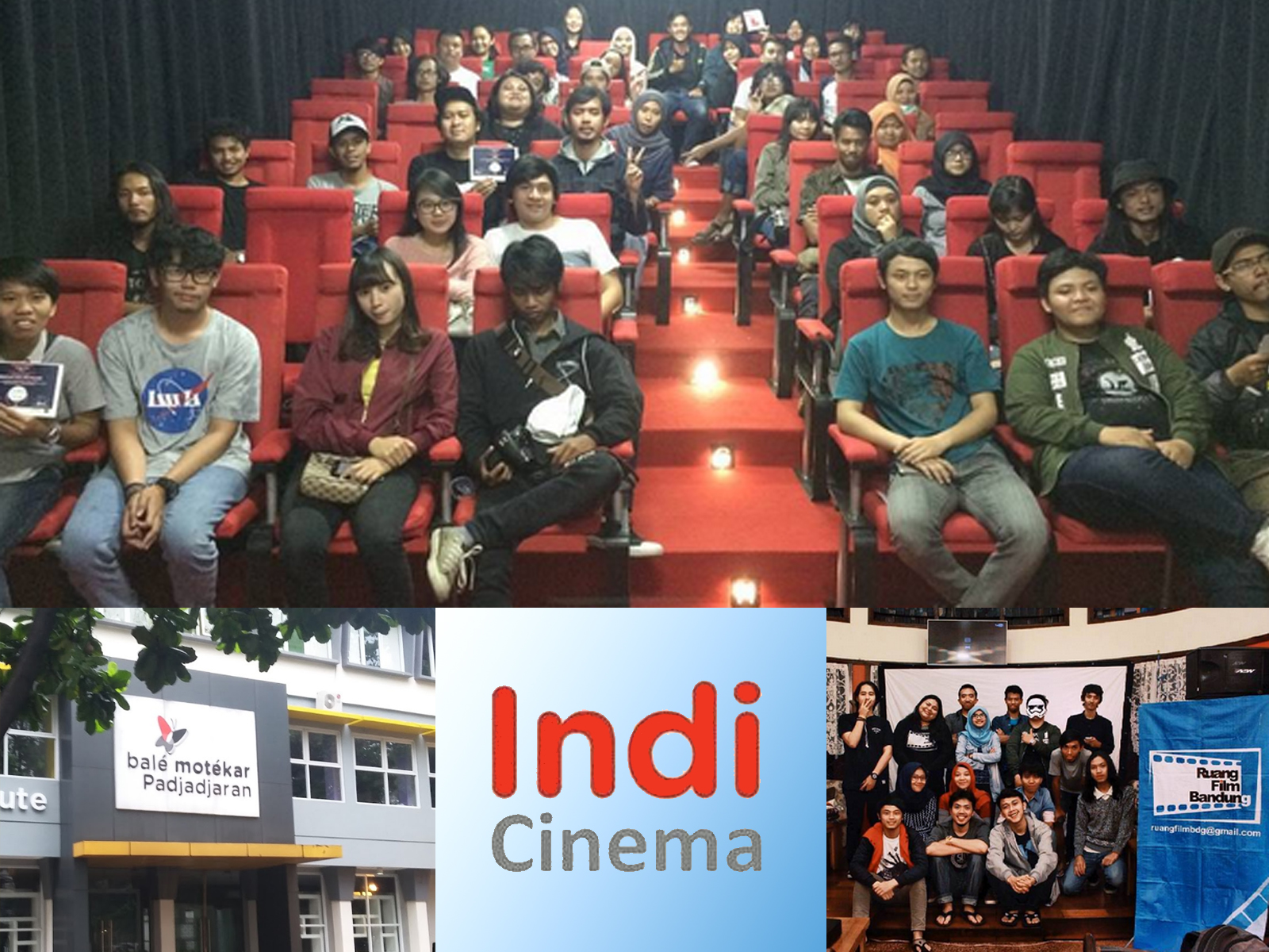 Bioskop film Indicinema di Bale Motekar Bandung
