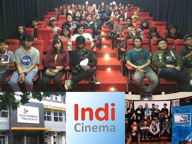 Bioskop Alternatif di IndiCinema, Bale Motekar, Jln. Banda