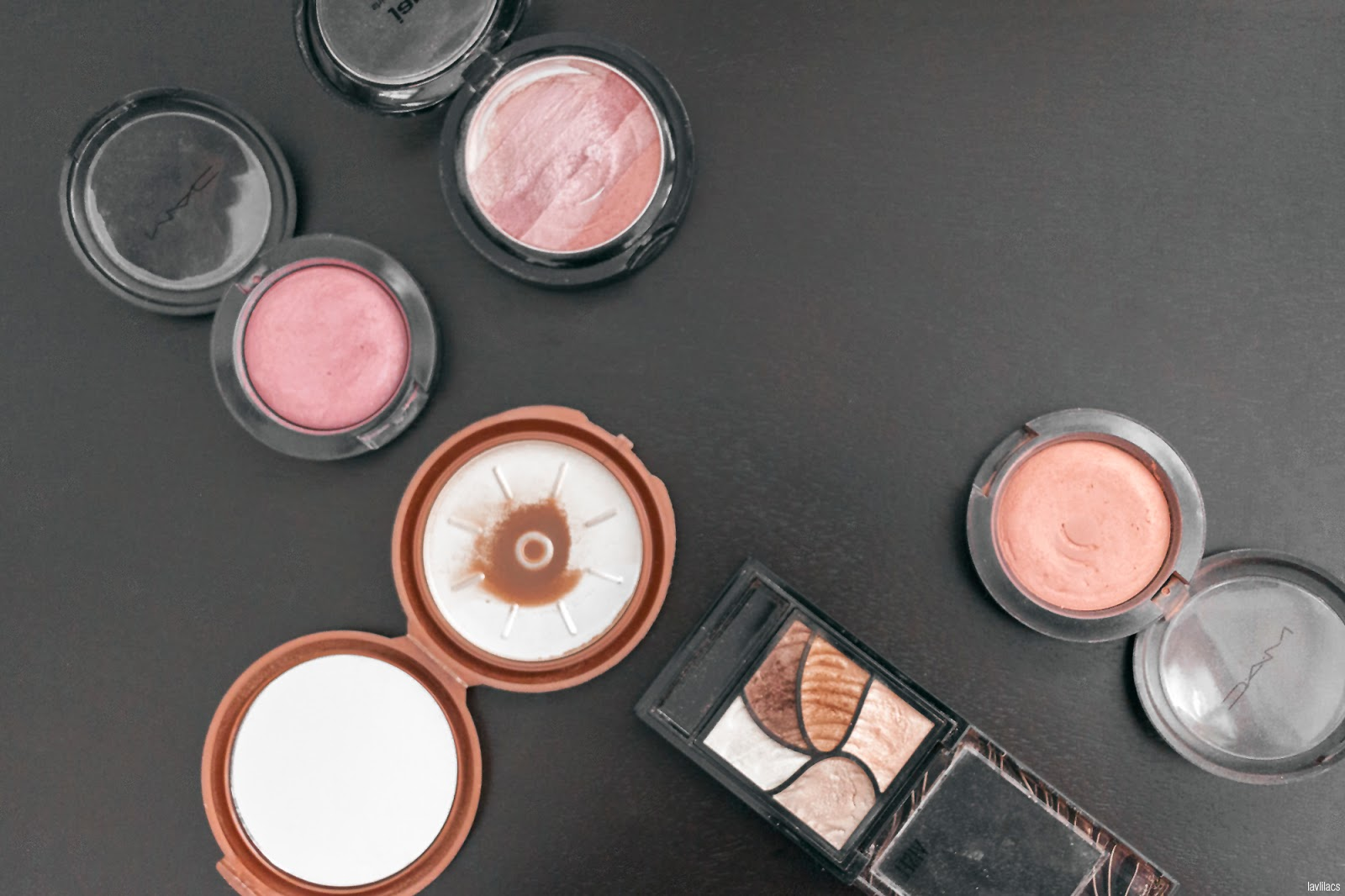 Project Make A Dent 2016 Powder makeup products - End results