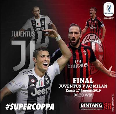 Prediksi Juventus vs AC Milan 17 Januari 2019