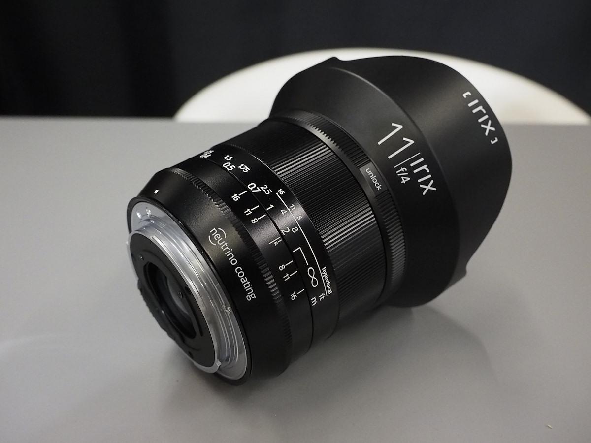 Объектив Irix 11mm f/4 для полнокадровых зеркальных камер