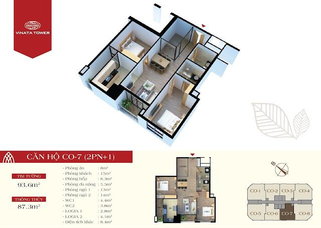 căn CO7 chung cư Vinata Tower