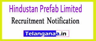 Hindustan Prefab Limited HPL Recruitment Notification 2017