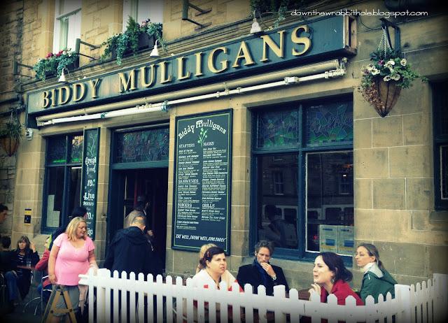 Grassmarket district pubs, down the wrabbit hole, marti ingram, Scotland