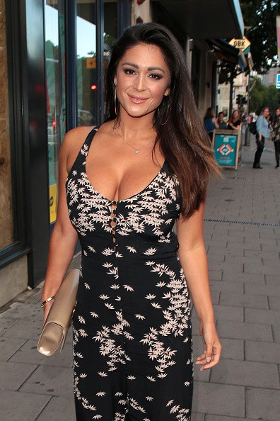 Casey Batchelor Flaunts Her Ample Assets