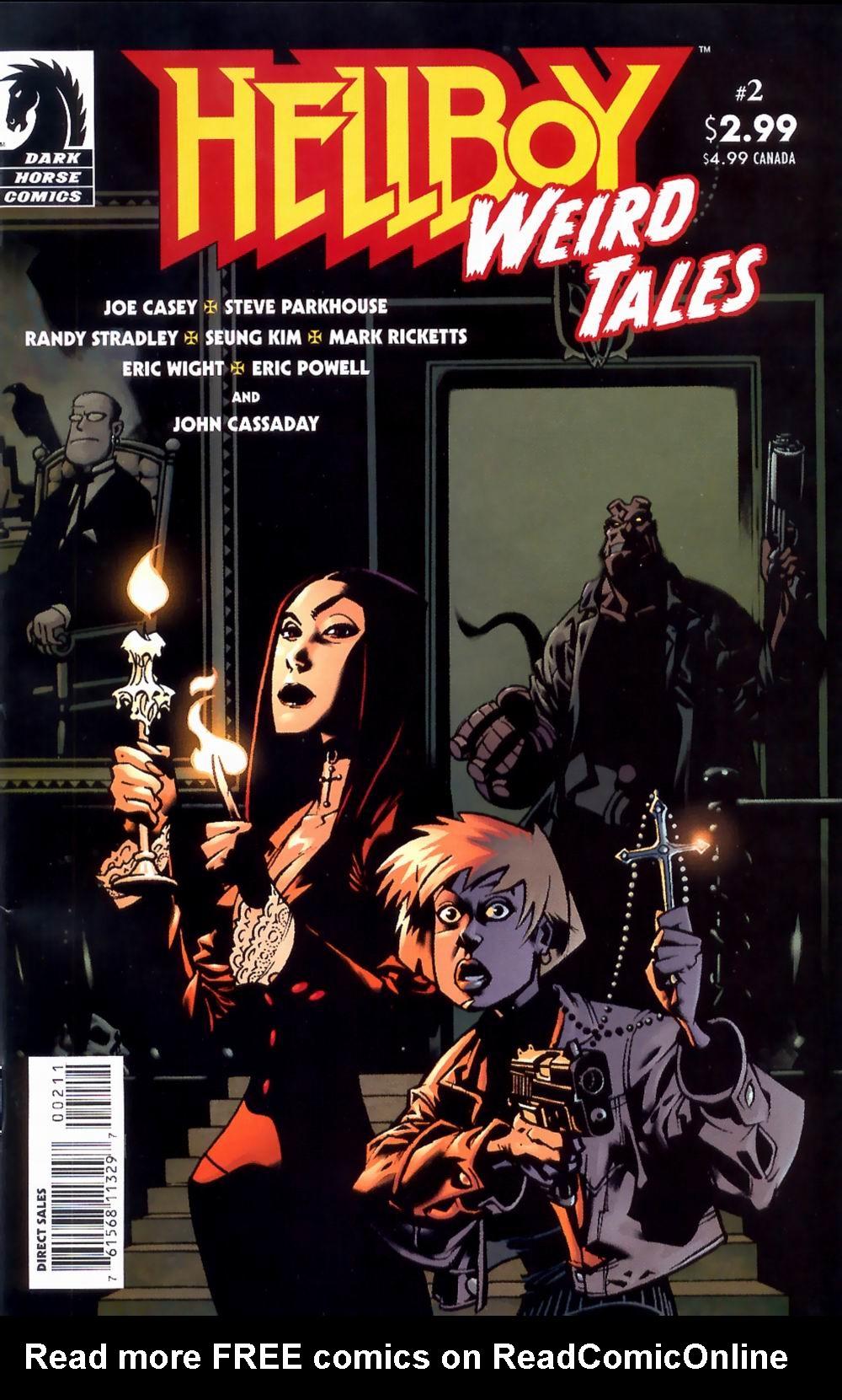 Read online Hellboy: Weird Tales comic -  Issue #2 - 1