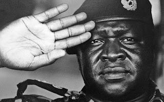 Idi Amin Dada Hand Image Palmistry