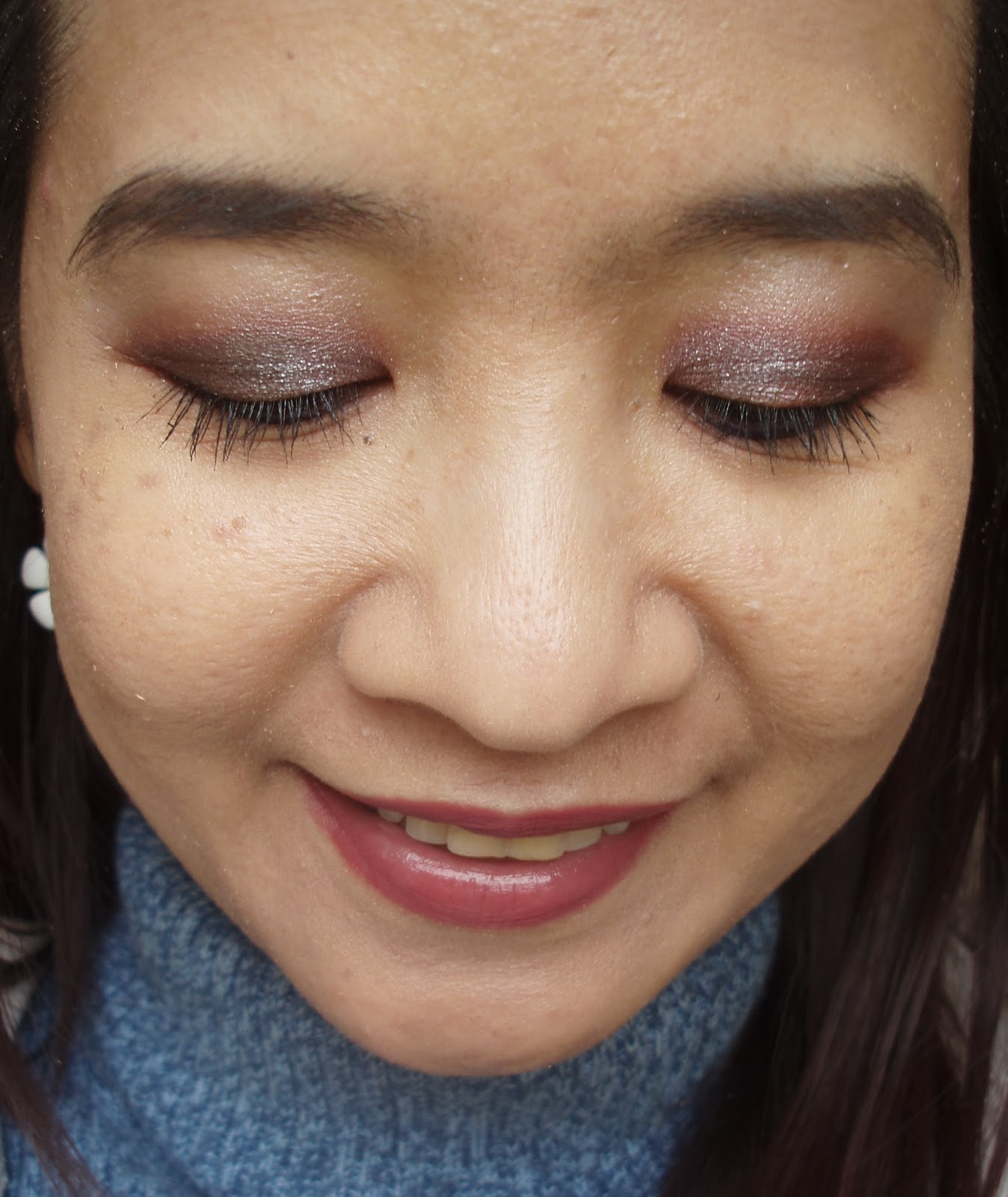 view of eyes makeup - photo #8