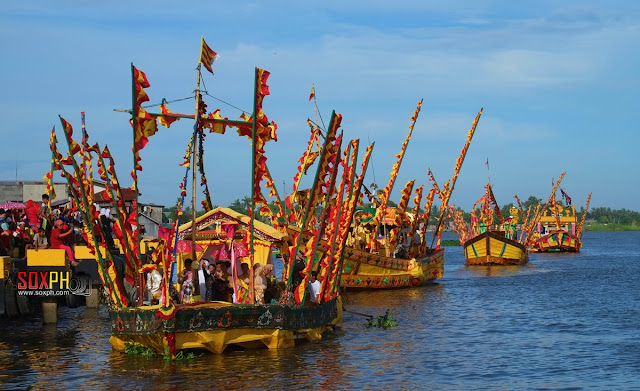 The Guinakit Fluvial Parade at Rio Grande de Mindanao in Cotabato City