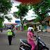 Tengah Pekan, Polsek Kamal Lakukan Patroli di Wilayah Sekolah