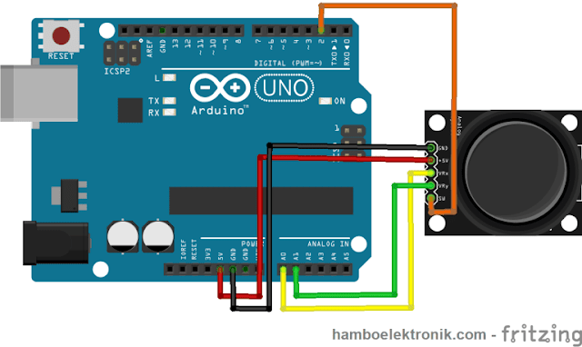 Cara Menggunakan Joystick Dengan Arduino