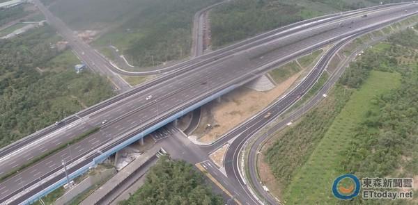 高速公路國道3號 古坑交流道(分離式交流道) 105年4月25日通車
