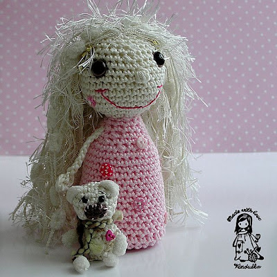 crochet toy, crochet for children, crochet fairy, crochet decoration, crochet doll, vendula maderska design, magic with hook and needles