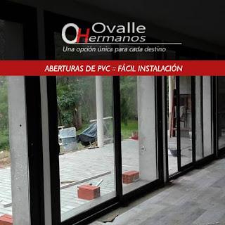 aberturas de pvc muy fácil de instalar