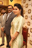 Samantha Ruth Prabhu in Cream Suit at Launch of NAC Jewelles Antique Exhibition 2.8.17 ~  Exclusive Celebrities Galleries 002.jpg