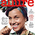 "Alicia Keys Rocks Ankara Headwraps For Allure Magazine While Claiming ""She Is Not A Slave To Makeup"""
