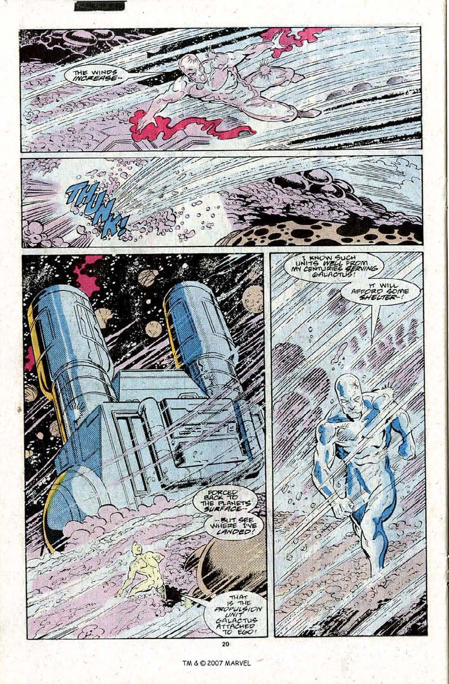 Read online Silver Surfer (1987) comic -  Issue #22 - 22