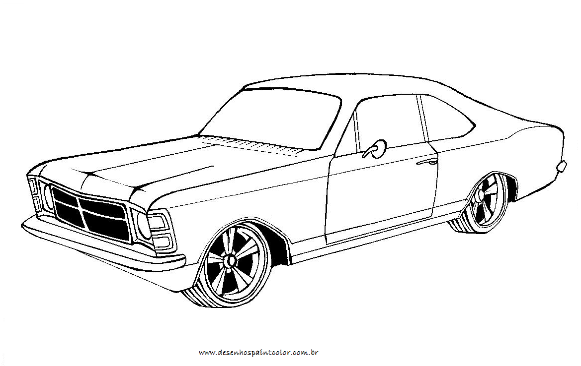 Desenhos De Carros Para Colorir Classificados De Links