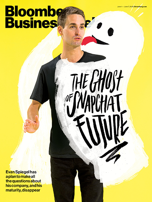 Bloomberg Interview: Snapchat 24-year-old CEO Evan Spiegel