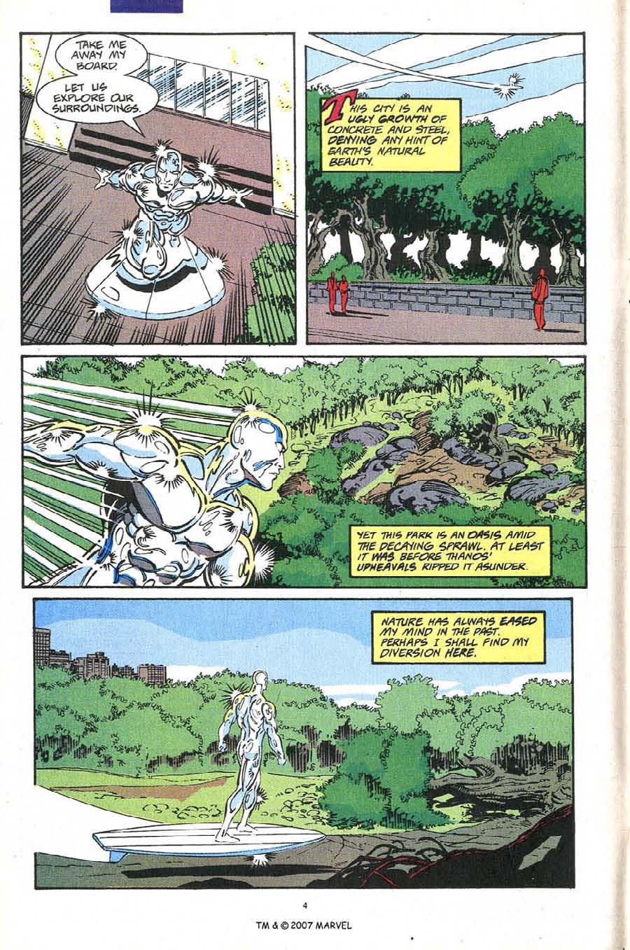 Read online Silver Surfer (1987) comic -  Issue #54 - 6