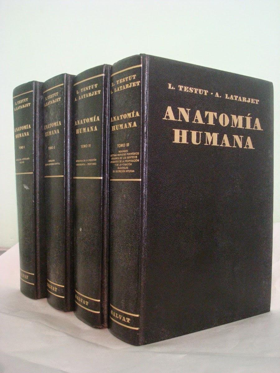 DESCARGAR LIBRO DE ANATOMIA TESTUT LATARJET