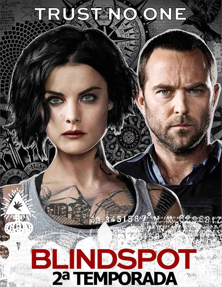 Blindspot 2ª Temporada Torrent - WEB-DL 720p Dual Áudio