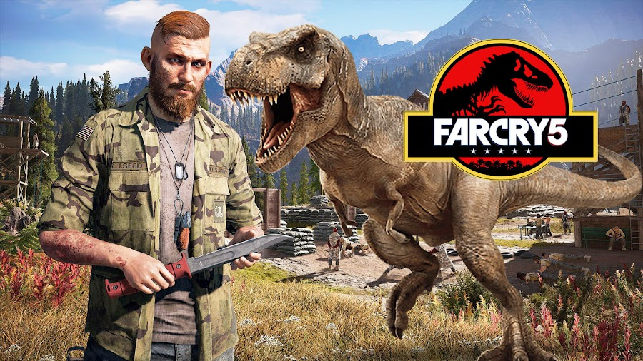 far cry 5 jurassic park map
