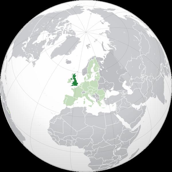 Letak induk negara Britania Raya