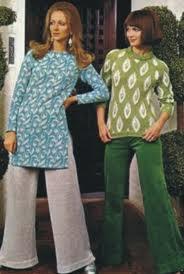 7f9d51f82 Nos anos 70 a moda foi marcada por um estilo diferente