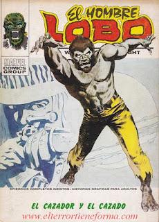 El Hombre Lobo 02 Ediciones Vertice