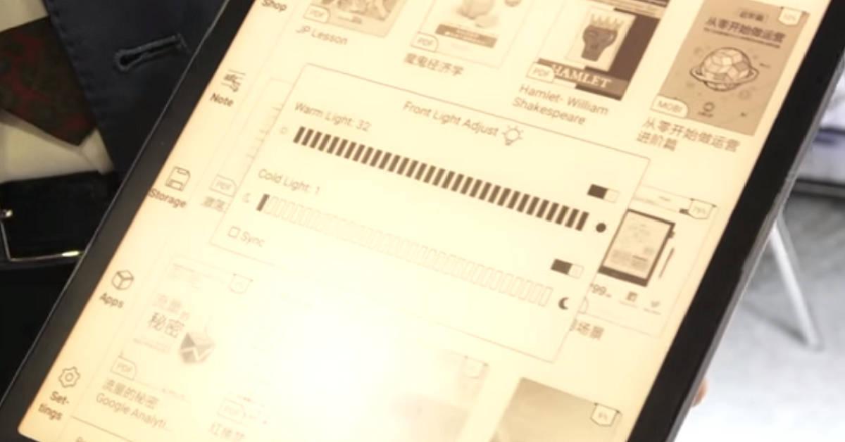 Onyx Boox Note Pro - e-czytnik z dużym podświetlanym ekranem