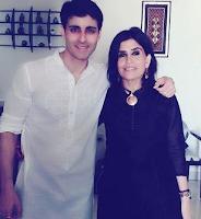 Foto Gautam Rode dengan Kakaknya