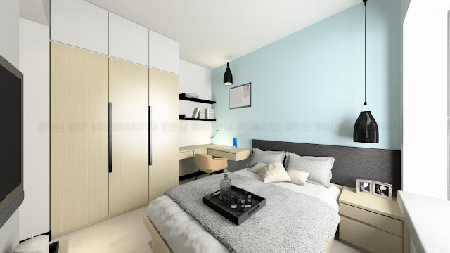 昇悅居睡房室內設計,Liberte bedroom interior design