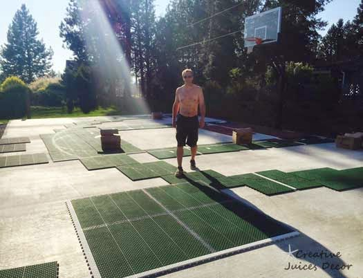 pickleball court instillation