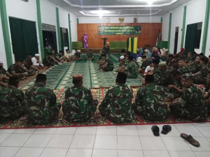 Peringatan HUT TNI ke-73 Makodim 0412/LU Adakan Serangkaian Kegiatan.