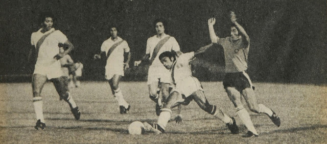 Chile y Perú en Clasificatorias a Argentina 1978, 6 de marzo de 1977